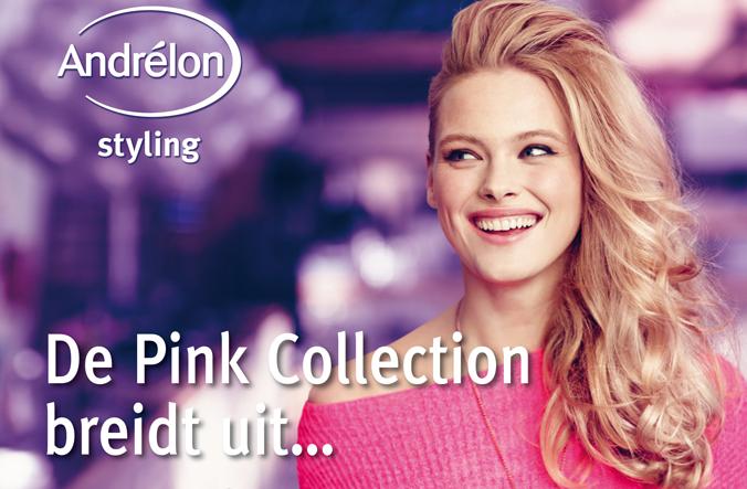 Nieuwe producten Andrélon Pink Collection