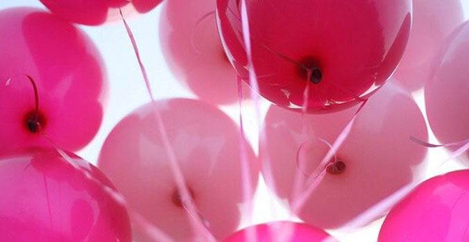 Femme ballonnen