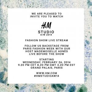 H&M invite