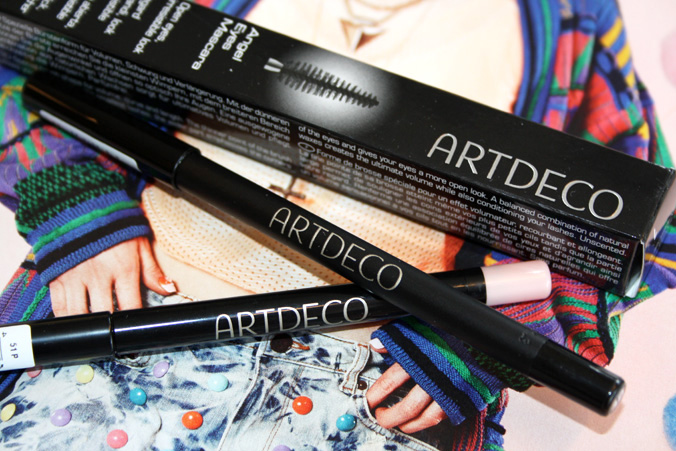 Artdeco Soft Eye Liner, Invisible Lip Contour en Angel Eyes Mascara