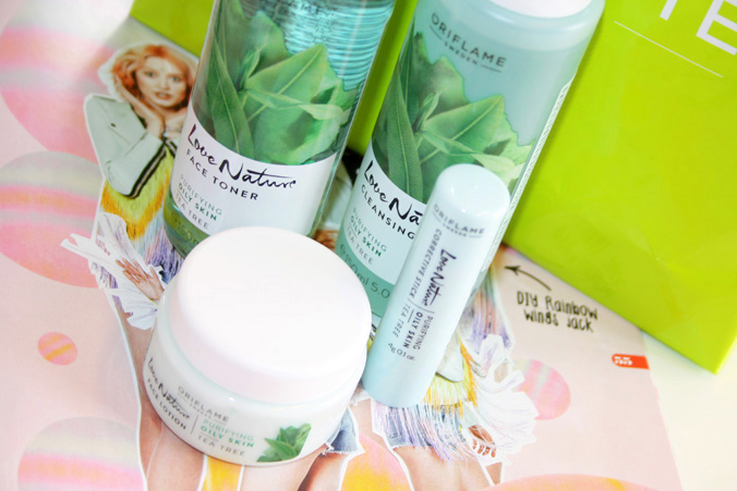 Oriflame 'Love Nature' Tea Tree lijn