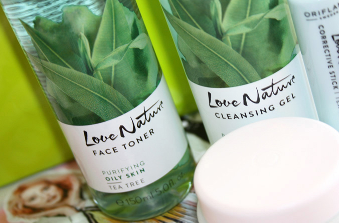 Love Nature Tea Tree Face Toner