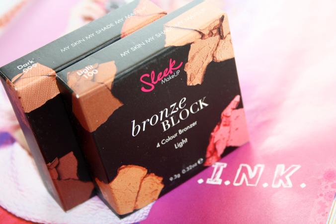 Doosjes Sleek Bronze Blocks