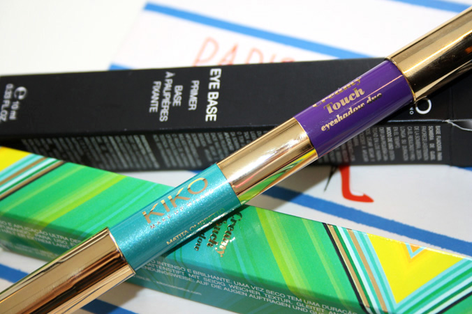 KIKO 'Life In Rio' Creamy Touch Eyeshadow Duo Violet & Turquoise 102