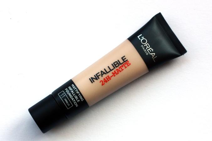 L'Oréal Infallible 24H-Matte1