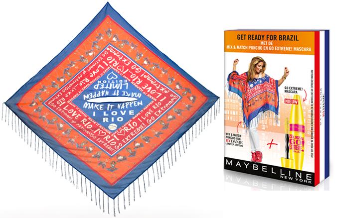 Maybelline mascara en poncho By Danie