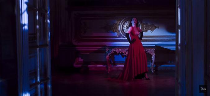 Rihanna voor Dior