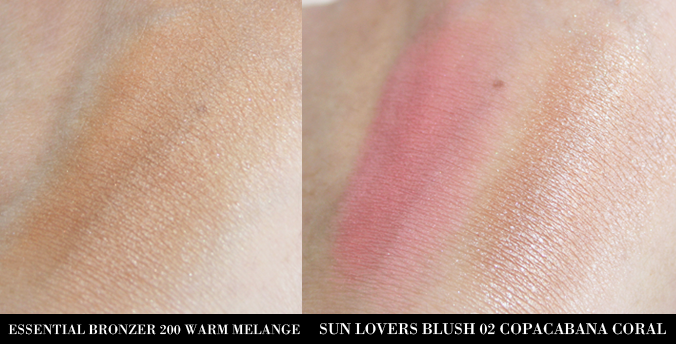 Swatches KIKO Essential Bronzer en Sun Lovers Blush