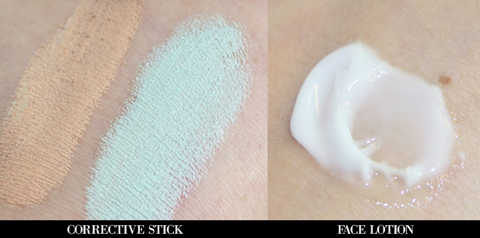 Swatches-Tea-Tree-Corrective-Stick-en-Face-Lotion
