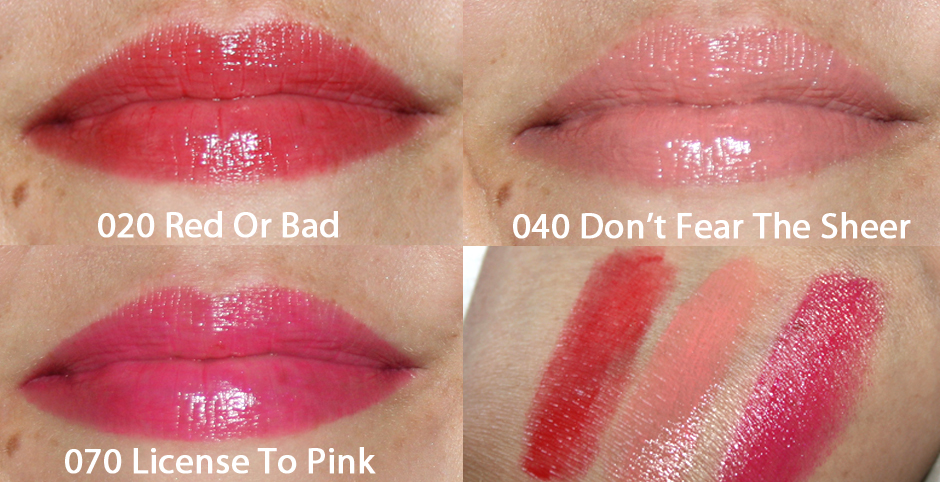 Swatches catrice gel lips