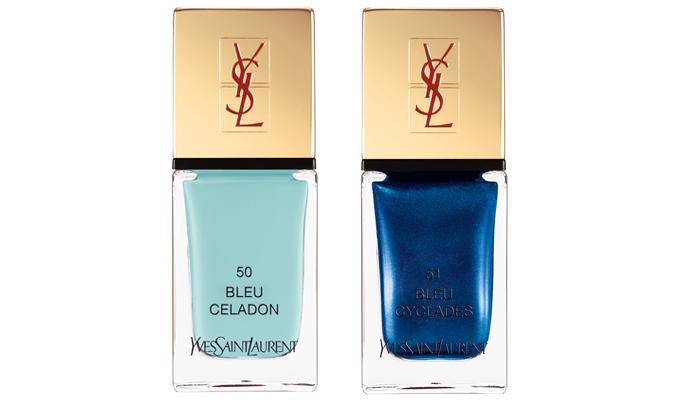 La Laque Couture Nr. 50 Bleu Celadon en Nr. 51 Bleu Cyclades