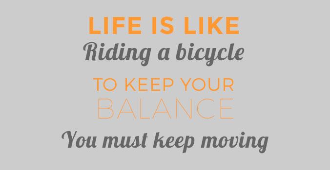 afvallen fietsen bewegen