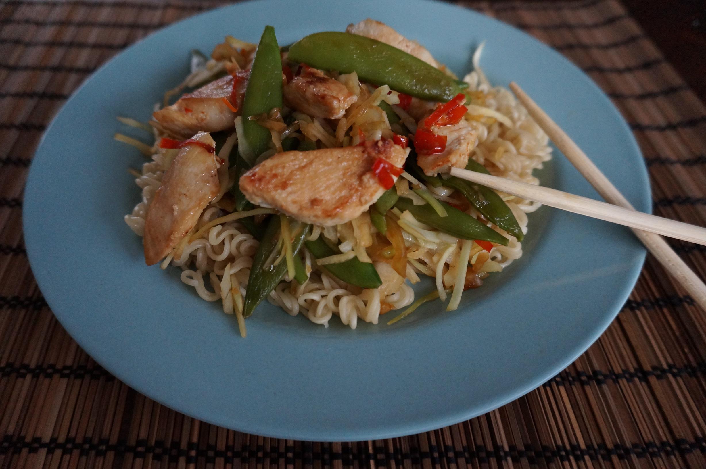 foto wok bord