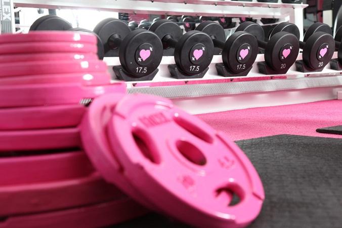 pink weights