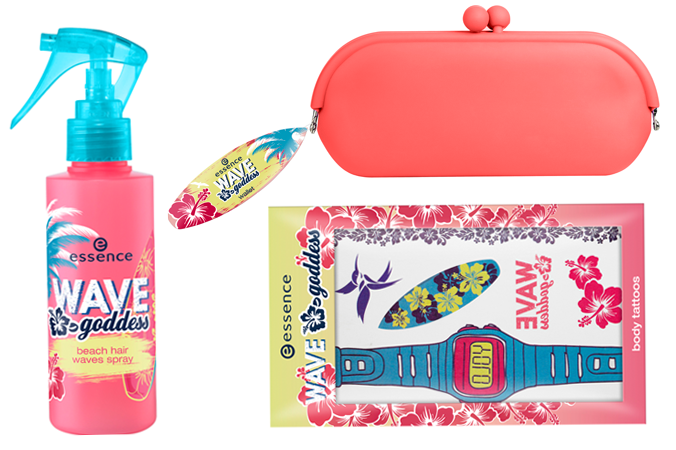 Accessoires Essence Wave Goddess collectie