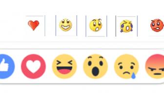 Doen de nieuwe Facebook-knoppen jou ook niet ergens aan denken?