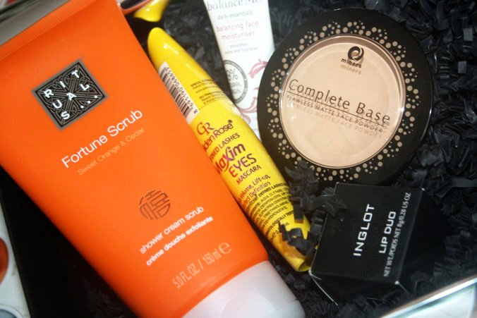 Inhoud Beautybox april 2014
