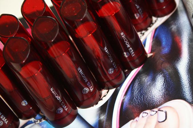 Nieuwe Yves Rocher Cherry Oil Lipsticks