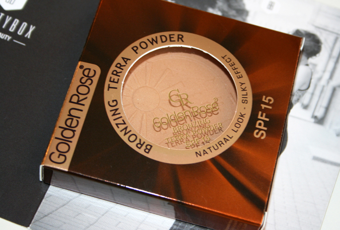 Beautybox mei 2014 - Golden Rose Bronzing Powder