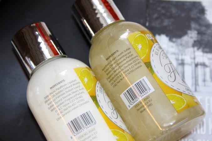 Beautybox mei 2014 - IDC showergel en bodylotion ingrediënten