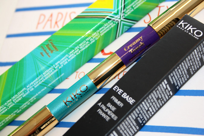 KIKO 'Life In Rio' Creamy Touch Eyeshadow Duo Violet & Turquoise