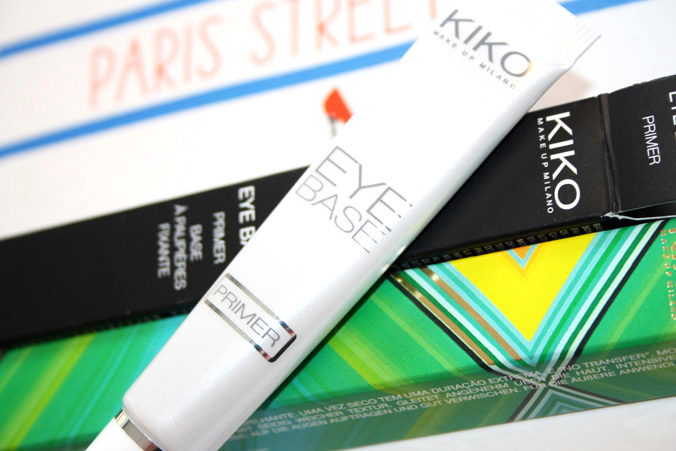 KIKO Eye Base Primer tube