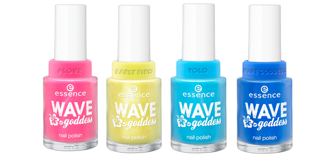 Nagellak Essence Wave Goddess collectie
