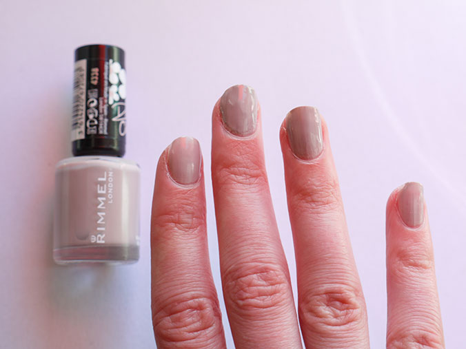 pastel nagellak