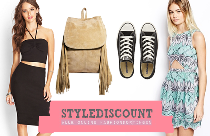 Met korting shoppen via StyleDiscount!