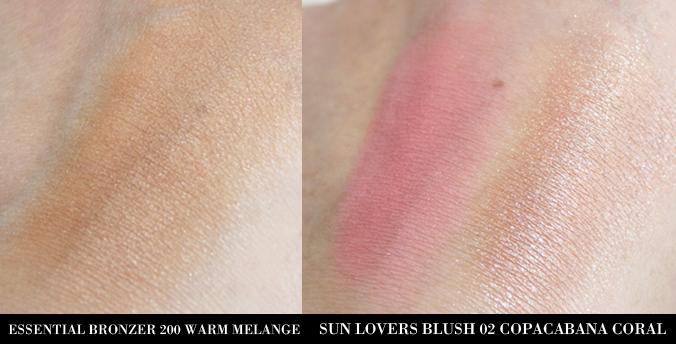 Swatches KIKO Essential Bronzer en Sun Lovers Blush