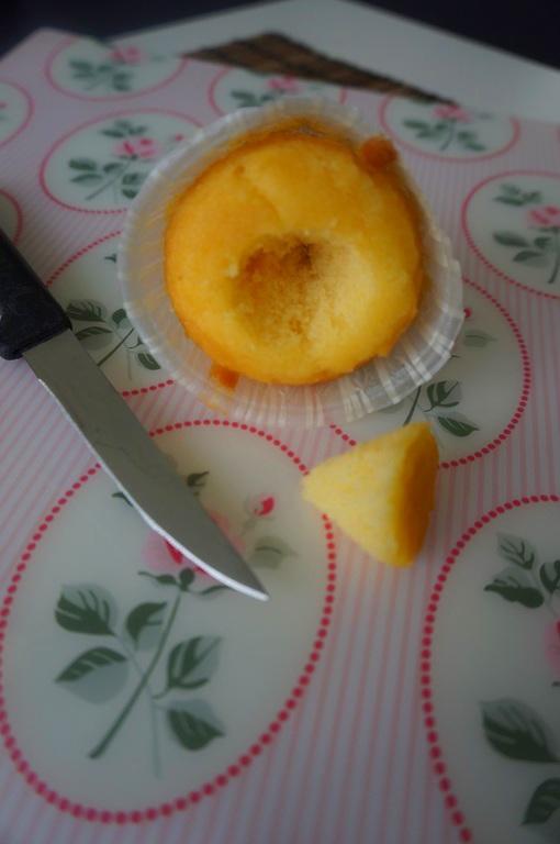 cupcake snijden